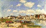 Eugene Boudin Trouville Spain oil painting reproduction