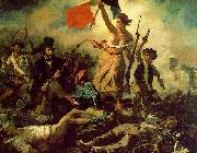 Eugene Delacroix Liberty Leading the People Spain oil painting reproduction