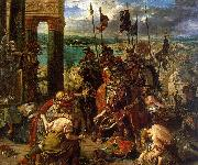 Eugene Delacroix The Entry of the Crusaders into Constantinople Spain oil painting reproduction