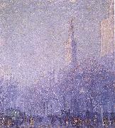 F Usher De Voll Madison Square oil painting picture wholesale