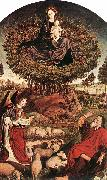 FROMENT, Nicolas The Burning Bush dh oil painting artist