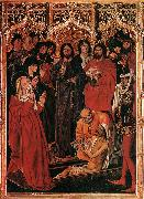 FROMENT, Nicolas The Raising of Lazarus dh oil painting artist