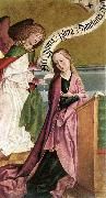 FRUEAUF, Rueland the Elder The Annunciation dh oil painting artist