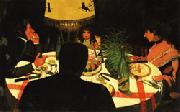 Felix Vallotton Dinner oil painting picture wholesale