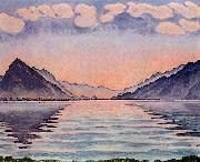 Ferdinand Hodler Lake Thun oil painting picture wholesale