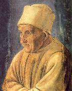 Filippino Lippi Portrait of an Old Man Spain oil painting artist