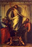 Fra Bartolommeo Resurrected Christ with Saints oil painting picture wholesale