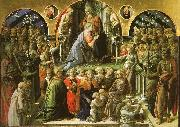 Fra Filippo Lippi The Coronation of the Virgin oil painting artist
