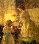 Francis Day The Piano Lesson oil painting picture wholesale