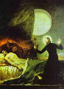 Francisco Jose de Goya St.Francis Borgia Exorsizing oil painting picture wholesale