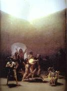 Francisco Jose de Goya Yard of Madhouse oil painting picture wholesale