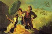 Francisco Jose de Goya The Parasol. oil painting picture wholesale