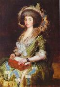 Francisco Jose de Goya Portrait of Senora Bermusezne Kepmasa. oil painting picture wholesale