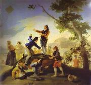 Francisco Jose de Goya La cometa(Kite) oil painting picture wholesale