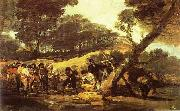 Francisco Jose de Goya Powder Factory in the Sierra. oil painting picture wholesale