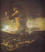 Francisco Jose de Goya The Colossus. oil painting picture wholesale