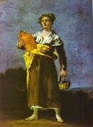 Francisco Jose de Goya Girl with a Jug Spain oil painting artist