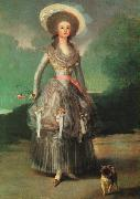 Francisco de Goya Marquesa de Pontejos oil painting picture wholesale