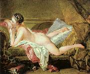Francois Boucher Nude on a Sofa Spain oil painting reproduction