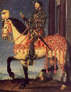 Francois Clouet Portrait of Francois I on Horseback oil painting picture wholesale