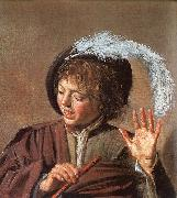 Frans Hals Singing Boy with a Flute oil painting picture wholesale