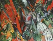 Franz Marc In the Rain oil painting picture wholesale