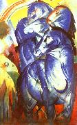 Franz Marc The Tower of Blue Horses oil painting picture wholesale