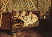 Frederic Bazille The Improvised Field-Hospital oil painting picture wholesale