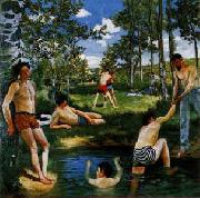 Frederic Bazille Summer Scene oil painting picture wholesale
