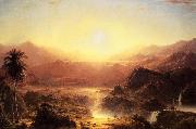 Frederic Edwin Church Andes of Eduador oil painting picture wholesale