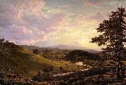 Frederic Edwin Church Stockbridge,Mass. oil painting picture wholesale
