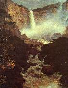 Frederick Edwin Church The Falls of Tequendama oil painting artist