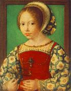 GOSSAERT, Jan (Mabuse) Young Girl with Astronomic Instrument f oil painting picture wholesale