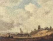 GOYEN, Jan van Seashore at Scheveningen dg oil painting picture wholesale