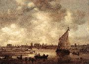 GOYEN, Jan van View of Leiden dg oil painting picture wholesale