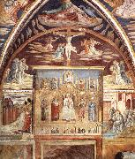 GOZZOLI, Benozzo Madonna and Child Surrounded by Saints sd oil painting picture wholesale