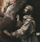 GRECO, El St. Francis Receiving the Stigmata dfh oil painting picture wholesale