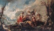 GUARDI, Gianantonio The Healing of Tobias s Father oil painting picture wholesale