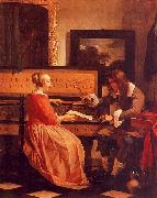 Gabriel Metsu The Music Lesson oil painting picture wholesale