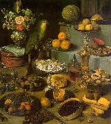 Georg Flegel Large Food Display oil painting picture wholesale