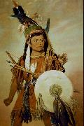 George Catlin Indian Boy oil painting picture wholesale