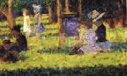 Georges Seurat Study for A Sunday on the Grande Jatte oil painting picture wholesale