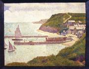 Georges Seurat Port-en-Bessin oil painting picture wholesale