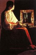 Georges de La Tour The Penitent Magdalen oil painting artist