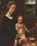 Gerard David The Madonna of the Milk Soup oil painting artist