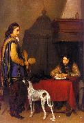 Gerard Ter Borch The Dispatch Spain oil painting reproduction