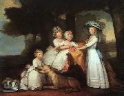 Gilbert Charles Stuart The Percy Children oil painting picture wholesale