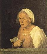 Giorgione Old Woman dhjd oil painting artist