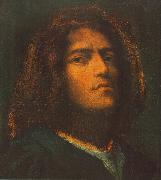 Giorgione Self-Portrait dhd oil painting artist