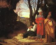Giorgione The Three Philosophers dh oil painting artist